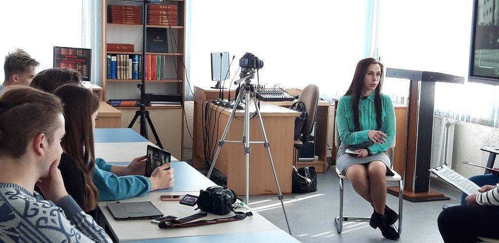 Встреча с  главным редактором Радио Могилёв Ниной Михно в рамках проекта Подземка